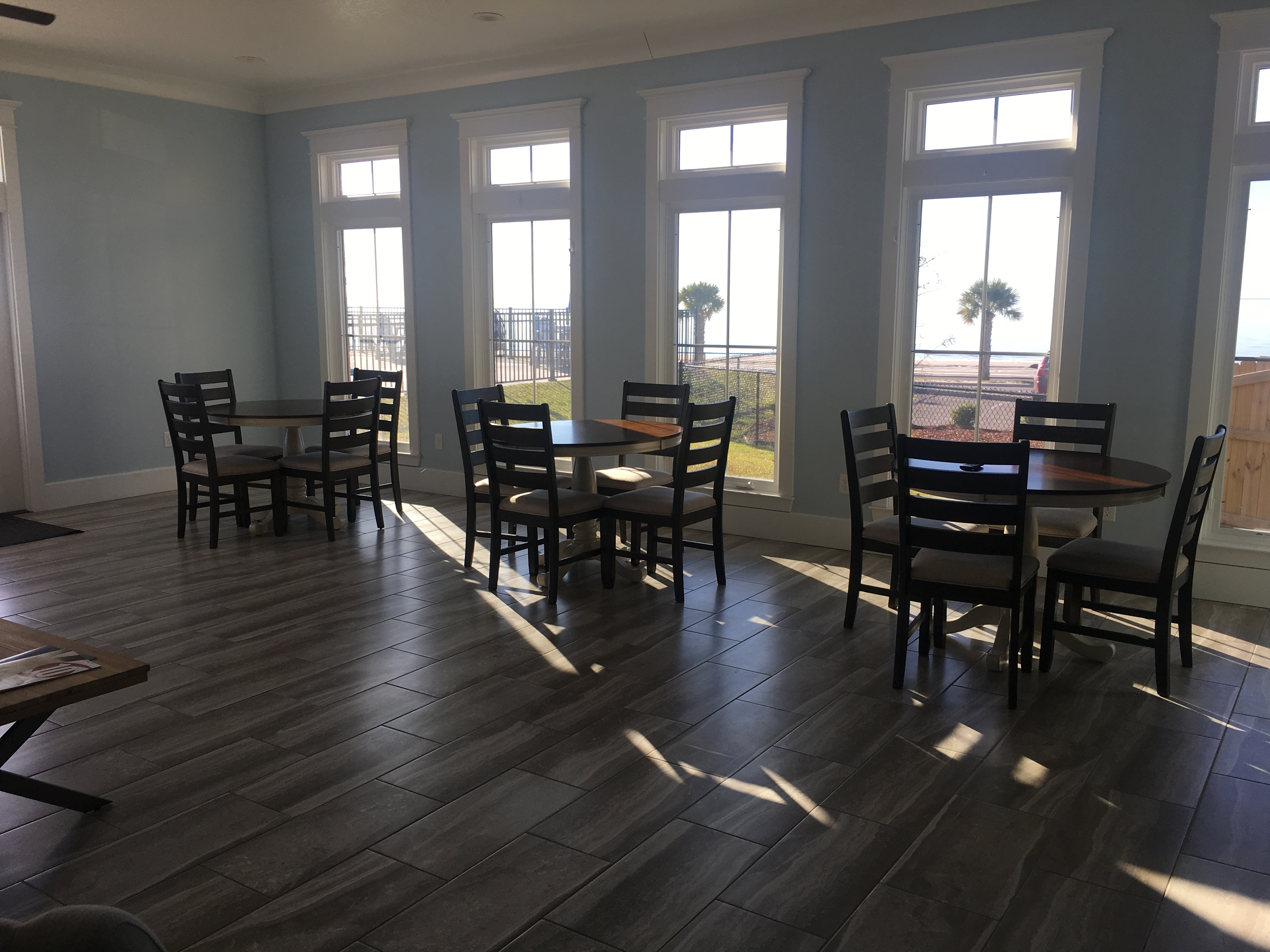 Clubhouse Breakfast Area